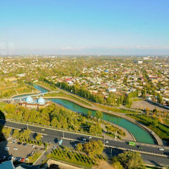 Tashkent TV Tower High View