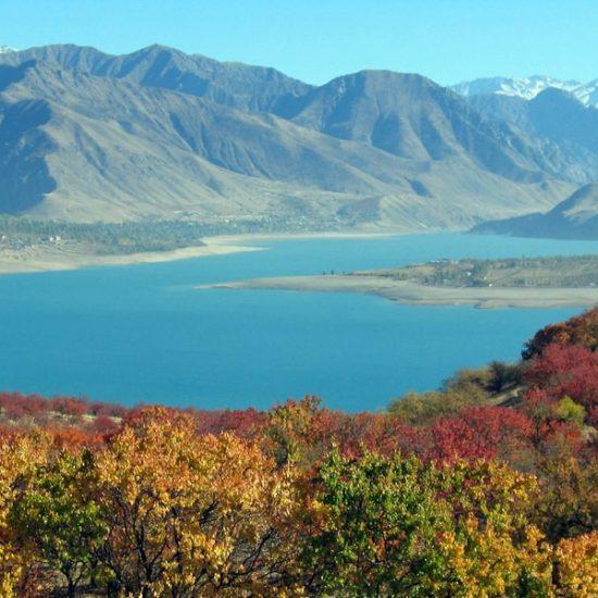 Cahrvak Water Reservoir Scenery