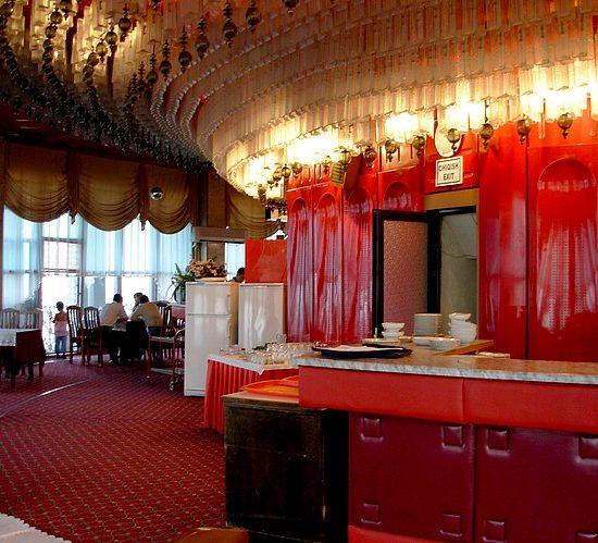 Inside TV Tower Tashkent