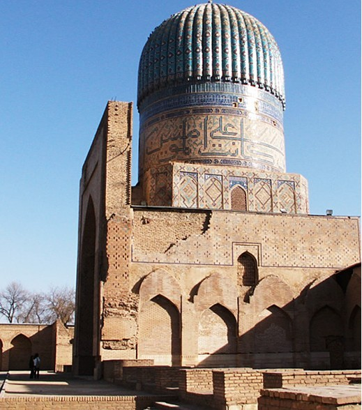 Samarkand, Bibi Khanum mosque