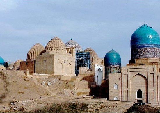 Samarkand, Shahi Zinda ensemble old view