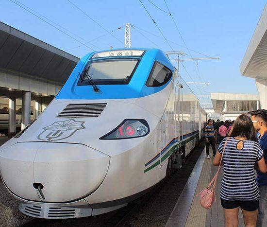 Tashkent Bullet Train - Station View