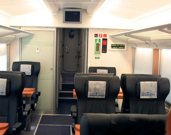 Tashkent Bullet Train Inside View