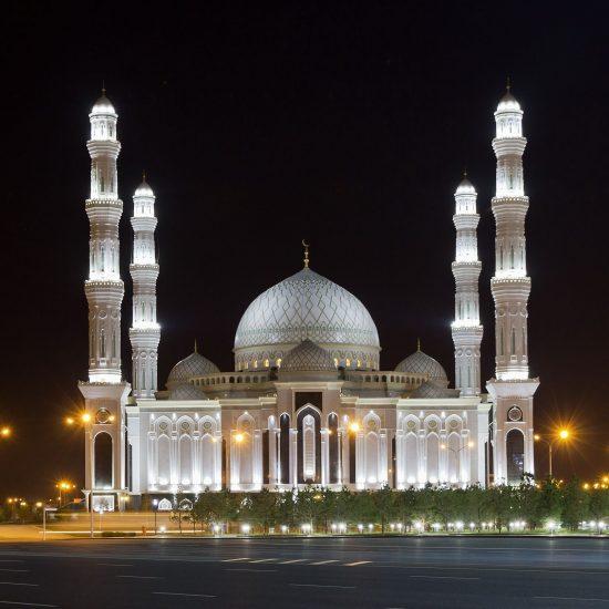 Hazrat Sultan Mosque Astana