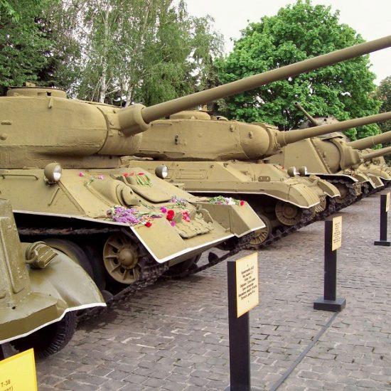 Tank - World war 2 Museum Kiev