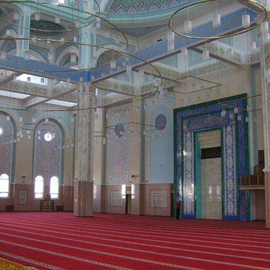 Nur-Astana Mosque Inside