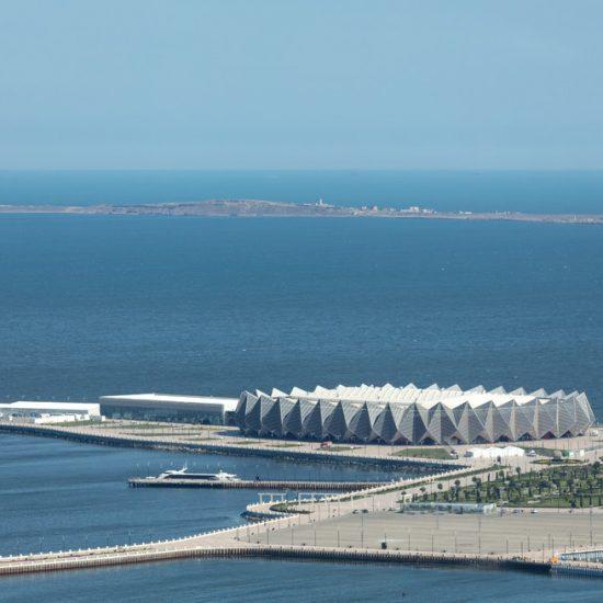 Crystal Hall Baku - Sea View