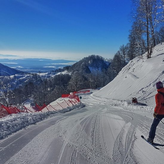 Gabala Mountain Resort in Winters