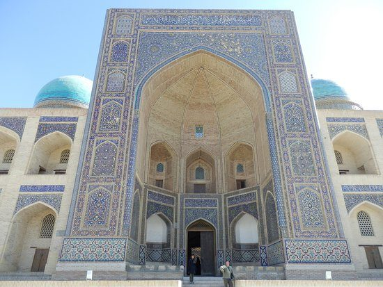 Abdulaziz-Khan Madrasah Closer View