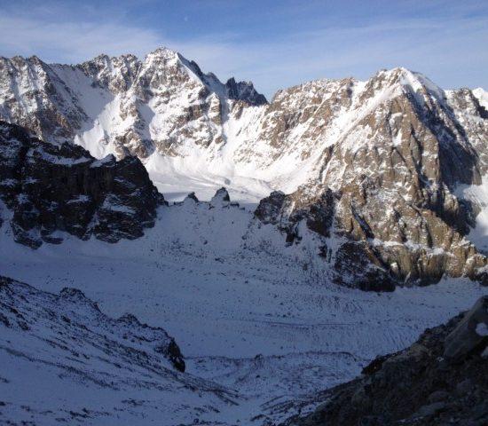 Ak-Sai Glacier Clear View