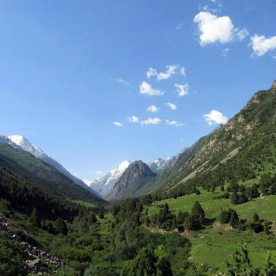 Alamedin Gorge Valley