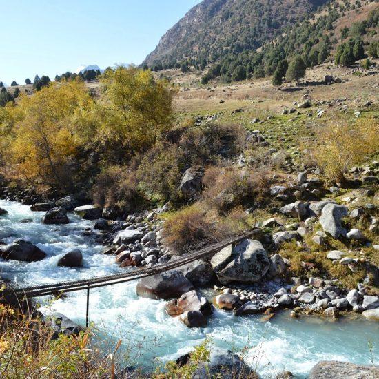 Alamedin Gorge River View