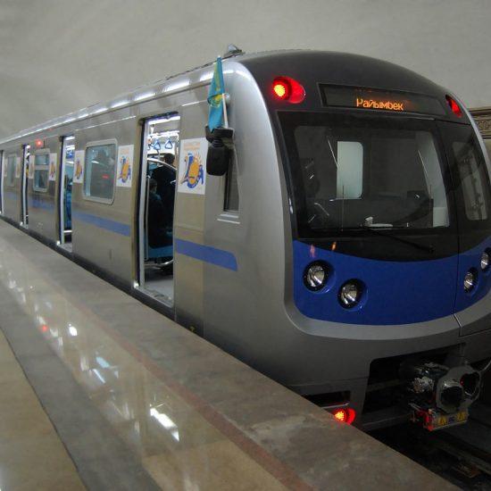 Almaty Metro Train