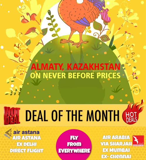 Almaty on Best Price Mailer