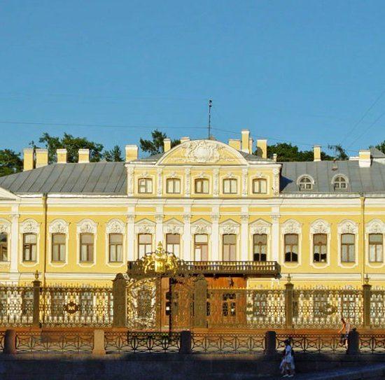 Anna Akhmatova museum Fountain House front View