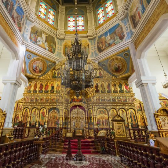 Ascension Cathedral Inside