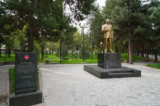 Ataturk Park Statue