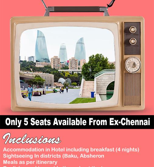 Baku from Chennai - Mailer