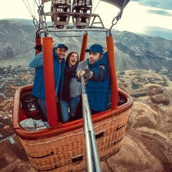 Balloon Ride Yerevan - Selfie