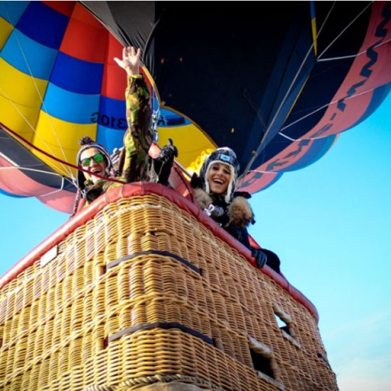 Balloon Ride Yerevan - Inside