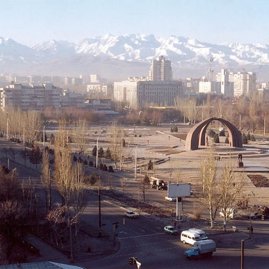 Bishkek-City in Winters