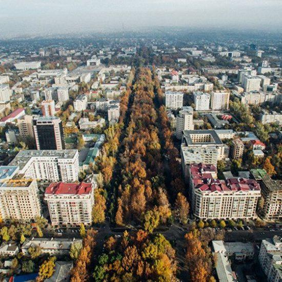 Bishkek-City Landscape View