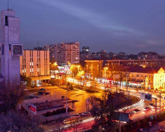Bishkek-City in Night