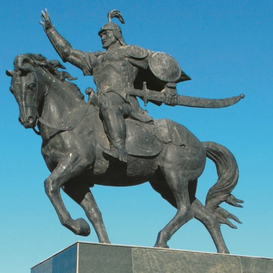 Monument to Bogenbai Batyr Astana