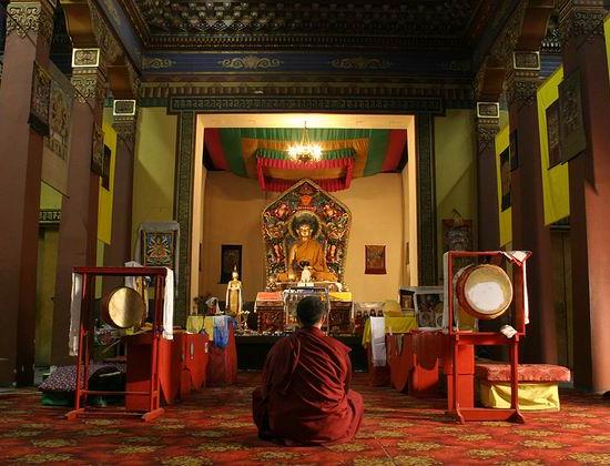 Buddhist Temple Datsan Gunzechoinei - Buddha