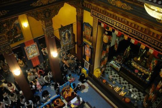 Buddhist Temple Datsan Gunzechoinei Inside