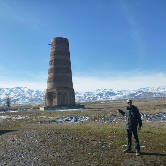 Burana Tower Tourist