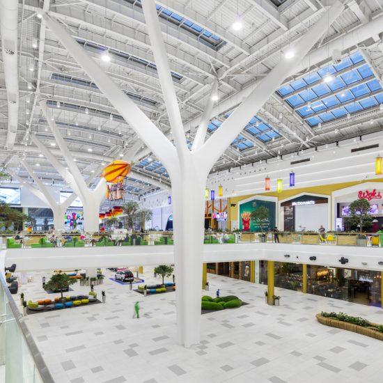 Mega Silk Way Shopping Areas