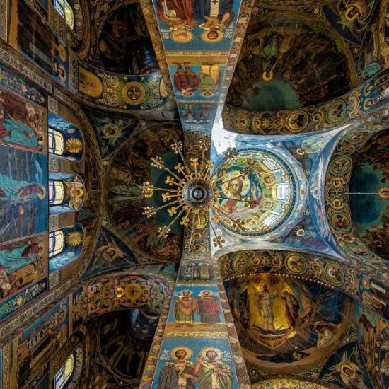 Church of the Savior on Spilled Blood Interiors