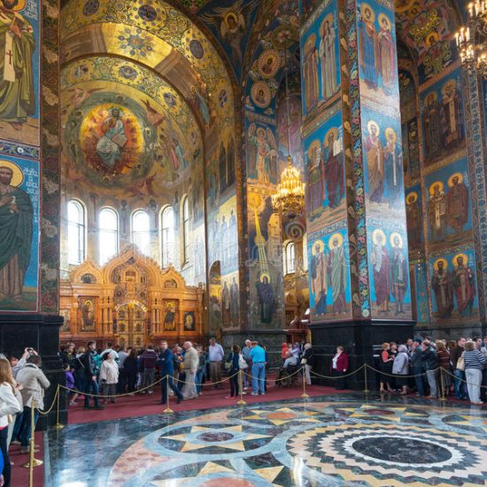 Church of the Savior on Spilled Blood Inside
