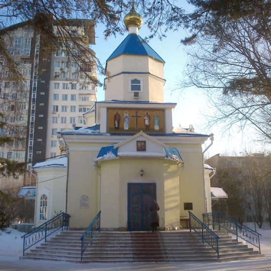 Constantine and Helen Cathedral Astana