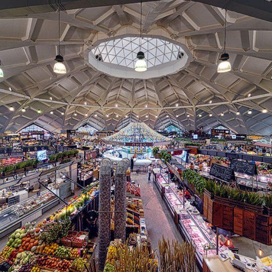 Danilovsky Market - Inside View