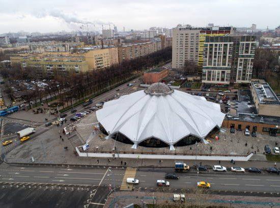 Danilovsky Market full View