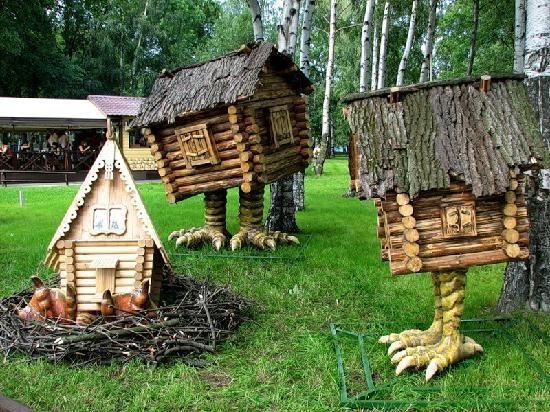Divo Ostrov - Animal Hut