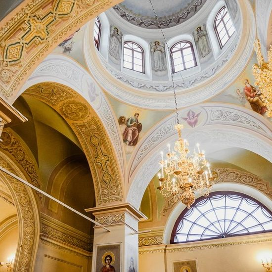 Donskoi Monastery Inside View