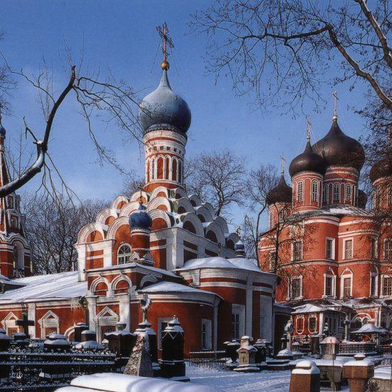 Donskoi Monastery - Winters