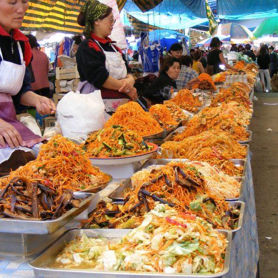 Dordoi Bazaar Food Shop
