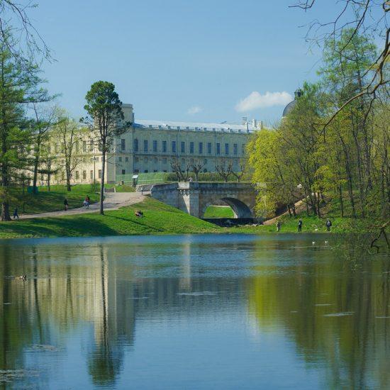 Gatchina Palace and Park - Lake View