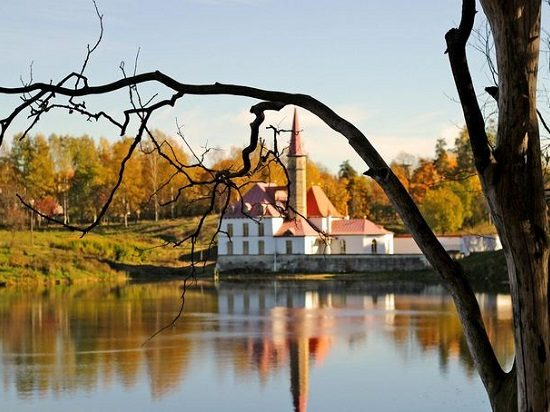 Gatchina Palace and Park - Cathedral View