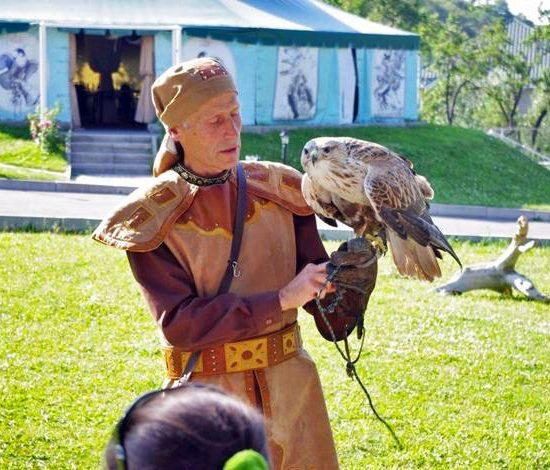 Falcon Show - Almaty