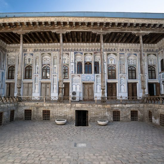 Fayzulla Khujayev House front View