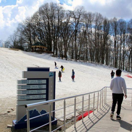Gabala in Winters