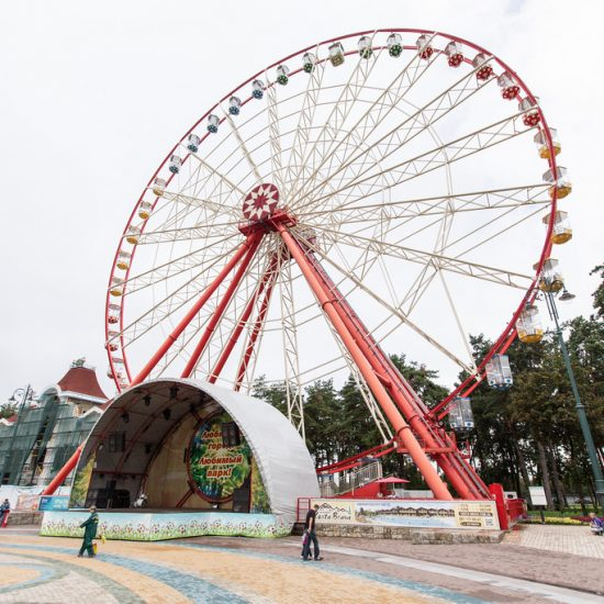 Gorkiy Central Park of Culture and Recreation - Ferris Wheel