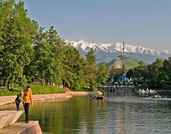 Almaty Central Park - Lake View