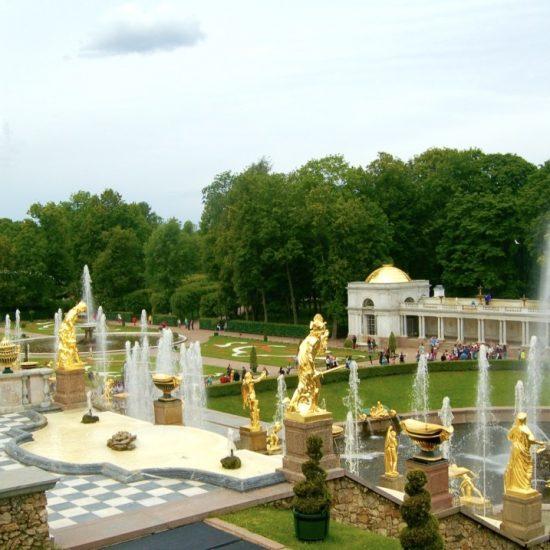 Peterhof State Museum Preserve Fountains