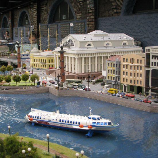 Grand Maket Russia Interactive Museum Ship